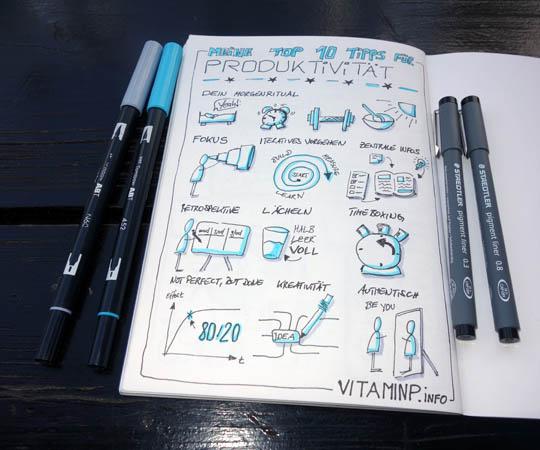 10 Produktivitäts-Tipps